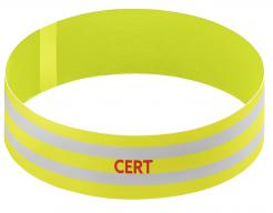 Yellow CERT Armband Singapore