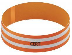 Orange CERT Armband