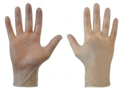 GL622 Clear Vinyl PF™ Vinyl powder free disposable glove