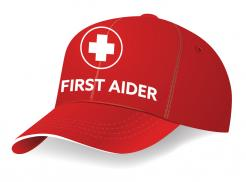Red First Aider Cap