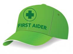 Green First Aider Cap Singapore