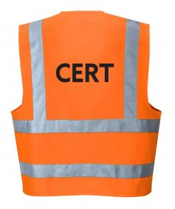 Orange CERT vest