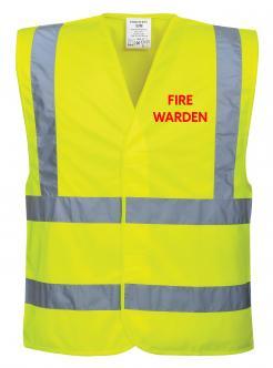 Fire Warden Vest singapore