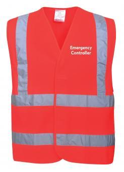 emergency controller vest