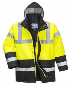 heavy winter jacket