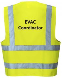 evacuation coordinator vest