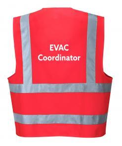 evacuation coordinator vest singapore