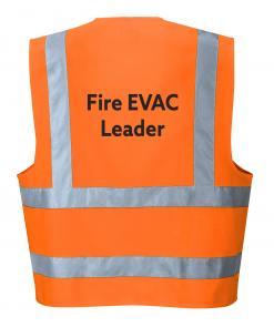 fire evac leader vest singapore