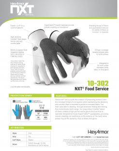 HexArmor NXT 10-302 Food Processing Gloves Singapore