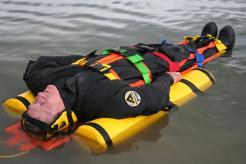 Floating stretcher
