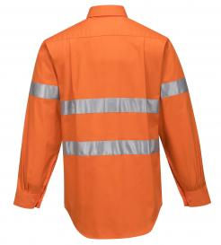 Darwin Hi-Vis Regular Weight Long Sleeve Shirt with Tape Singapore