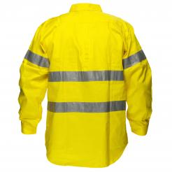 Darwin Hi-Vis Regular Weight Long Sleeve Shirt with Tape