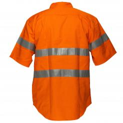 Darwin Hi-Vis Regular Weight Short Sleeve Shirt with Tape Singapore
