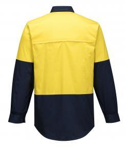 Hi-Vis Two Tone Lightweight Long Sleeve Shirt singapore