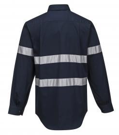 Geelong Regular Weight Long Sleeve Shirt with Tape (MA908)