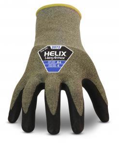 HexArmor 2072 Helix Aramid Steel Seamless Cut Resistant Gloves
