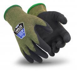 Helix® Aramid Steel Seamless Cut Resistant 2080 Gloves Singapore