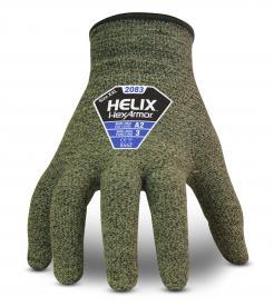 HexArmor Helix 2083 Aramid/Wool Seamless Cut Level A2 Gloves