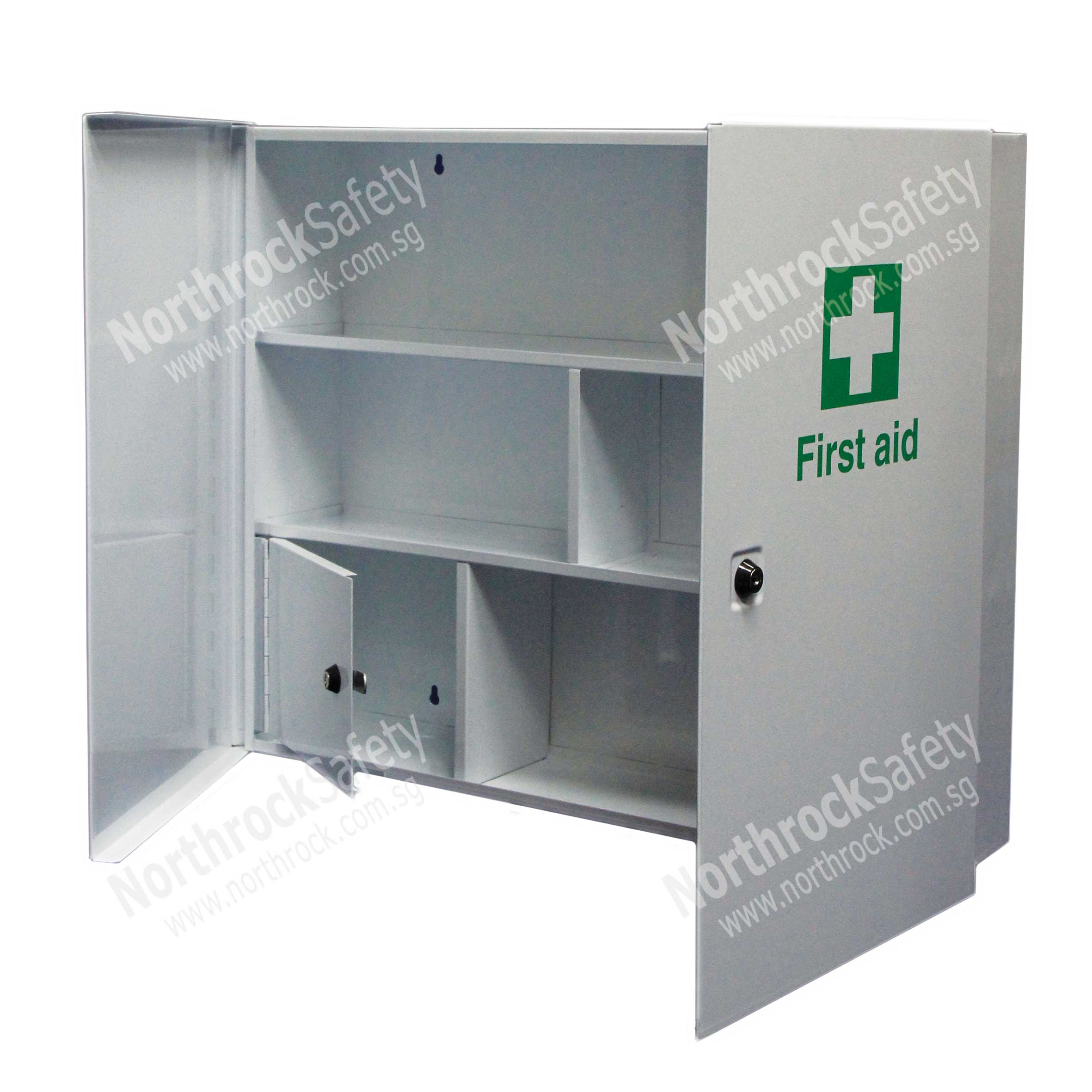 northrock safety metal first aid cabinet metal first aid cabinet singapore. Black Bedroom Furniture Sets. Home Design Ideas