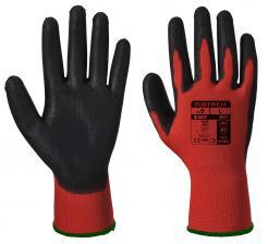 red pu cut 1 gloves