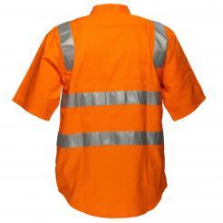 orange hi vis short sleeve shirt singapore