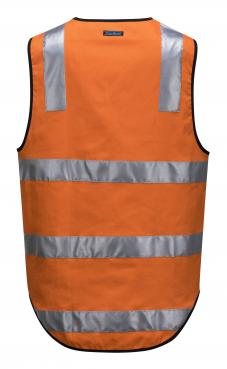AS/NZS 4602.1:2011 Class D/N orange vest