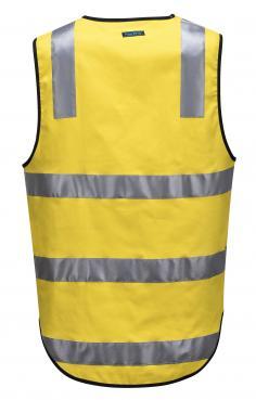 AS/NZS 4602.1:2011 Class D/N yellow vest