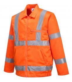Hi-Vis Poly-cotton Jacket RIS Singapore