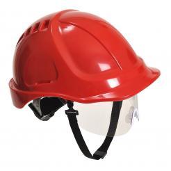 safety helmet with visor