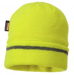Reflective Trim Knit Hat Insulatex Lined Singapore