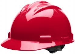 Bullard S61 Red Helmet