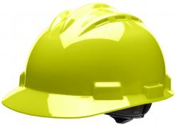 Bullard S62 Hard Hat Hi Viz Yellow