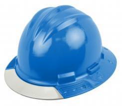 Bullard Aboveview Full-brim Hard Hat With Interchangeable Front Brim Pacific Blue Singapore