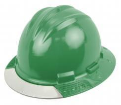 Bullard Aboveview Full-brim Hard Hat With Interchangeable Front Brim Kelly Green Singapore