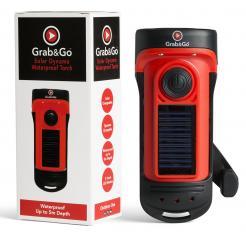 Grab&Go Solar Dynamo Waterproof Torch (NRS-G-WPT)