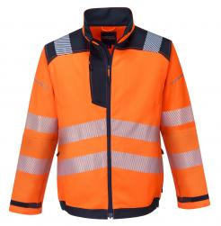 Orange Hi-Vis Work Jacket