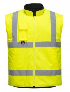 hi vis waterproof jacket with hood