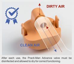 Valve for Practi-Man Advance CPR Manikin Singapore