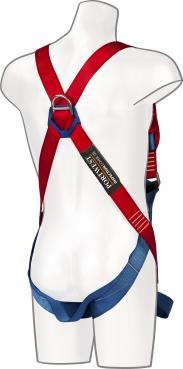 Two point safety harness with front & back D Ring