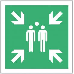Evacuation Assembly Point Signage
