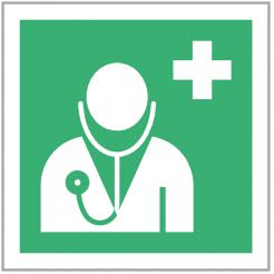 Doctor First Aid Sign