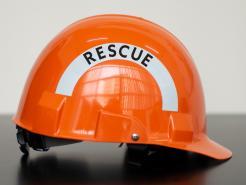Bullard Advent® A2 Helmet, Ratchet Suspension, Orange