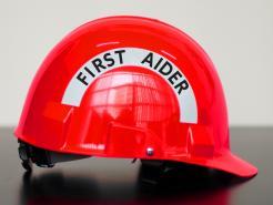 First Aider Safety Helmet