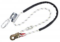 Work Positioning Lanyard with Grip Adjuster