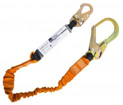 Single 140kg Lanyard with Shock Absorber