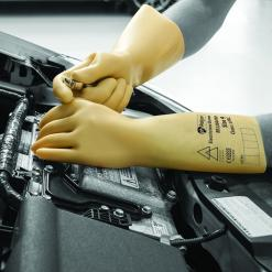 Electricians Gloves Latex Insulating Glove Class 00 Singapore