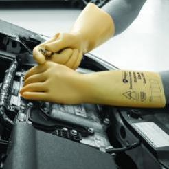 Electricians Gloves Latex Insulating Glove Class 0 Singapore