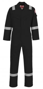 black flame resistant coveralls