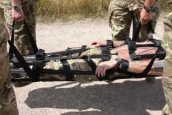 Fibrelight Folding Stretcher