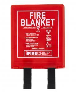 1.2M X 1.2M Fire Blanket In Rigid Case (BPR2/K100-P)